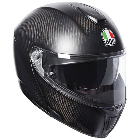 Viewing Images For AGV Sportmodular Matte Carbon Helmet