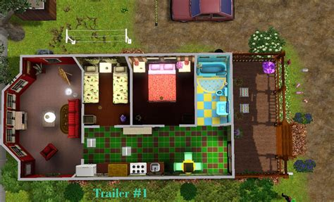 Mod The Sims - Mobile Mansions Court - CC Free