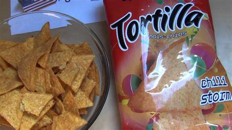 El Tequito Tortilla mais chips chili storm - YouTube