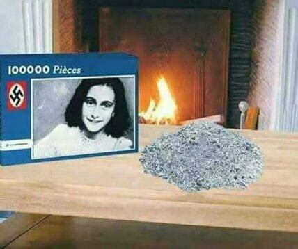 Anne Frank Puzzle - 9GAG