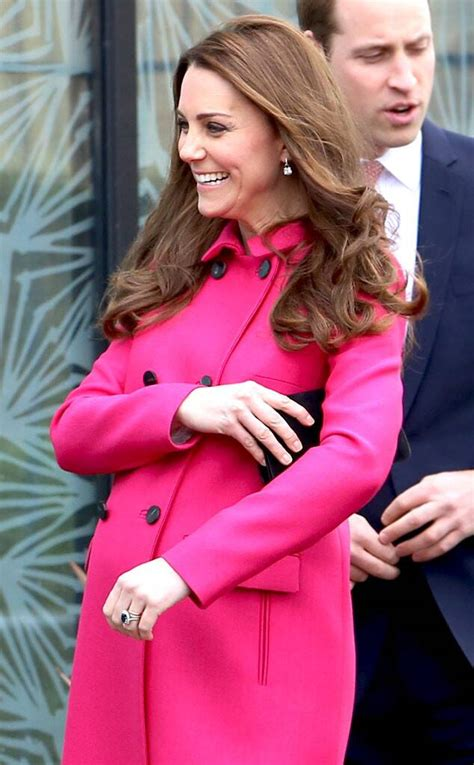 Kate Middleton Looks Pretty in Pink for Her Final Public