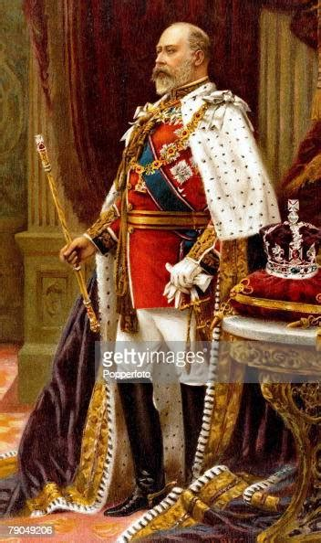 Royalty A portrait of his Royal Highness King Edward VII