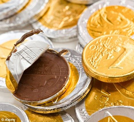 Stores are switching chocolate coins back to Sterling as
