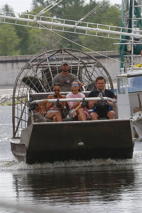Little Mix - Airboat Tour in New Orleans, Louisiana, April