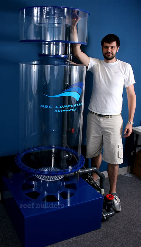 Commercial scale needle wheel skimmer from My Reef