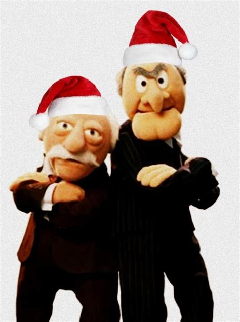 They are two disagreeable grumpy old men from the