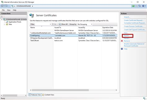 How to Export a Certificate From Internet Information