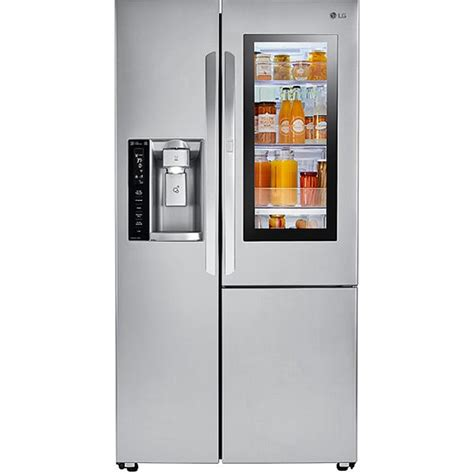 LG Stainless Steel Side-By-Side Refrigerator - LSXS26396S