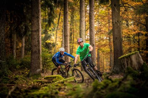 Mountainbike: Flowtrail Bad Orb - Haseltal-Trail - 3km