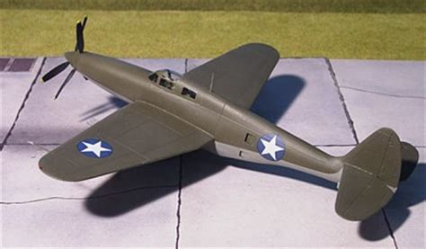 1/72 scale Replublic XP-69 - Giant fighter to replace P-47
