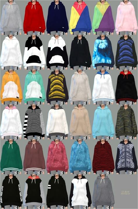 SIMS4 Marigold: Hoodie for female • Sims 4 Downloads